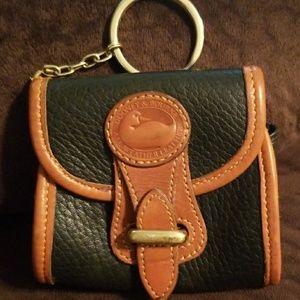 Dooney & Bourke coin purse keychain